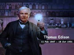 थॉमस एडिसन जीवनी thomas alva edison biography in hindi thomas alva