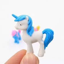 Online Shop 2pcs/<b>lot cute Cartoon</b> unicorn Pony eraser children ...