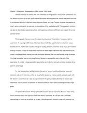 personal leisure philosophy essay my personal leisure philosophy 3 pages chapter 3 assignment demographics of my leisure a self study essay