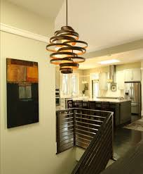staircase lighting fixtures. plain lighting stylish kitchen near modern dark staircase under pendant lighting  fixtures with unusual design intended m