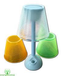 powerplus turtle solar usb powered led table lamp
