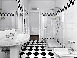 Black And White Bathroom Decor Bathroom Small House Bathroom Design