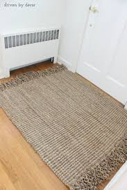 chunky jute rug driven by decor diy resized jute rug nuloom white jute rug chunky jute rug