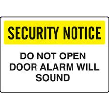 please lock door sign. Keep Door Closed Signs Do Not Prop Open Please Lock Sign