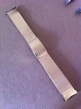seiko watch bands vintage mens seiko watch band polished stainless steel 19mm gold colour