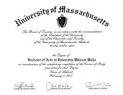 Bachelor Degree Certificate Sample Professional Samples Templates