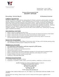 resume for security officer with no experience sample of security guard  resume security officer resume sample