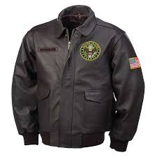 the army leather er jacket main