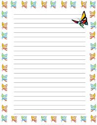 Kindergarten Lined Paper Template Handwriting Writing Paper Template Journal Templates Kindergarten