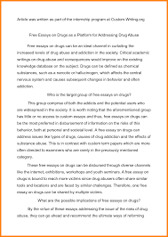 drugs and alcohol essay okl mindsprout co drugs and alcohol essay