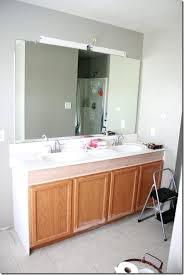 Remodelaholic How To Raise Up A Short Vanity Simple How Tall Is A Bathroom Vanity