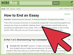 should you end an essay a question 91 121 113 106 ending the essay conclusions harvard writing center