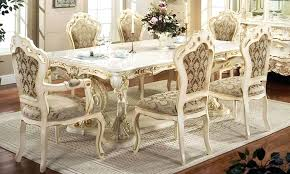 decorating with white furniture. White French Furniture How To Create Provincial Dining Table For Your Office Interior Decorating With