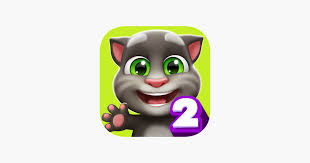 my talking tom 2 on the app