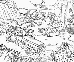 jurassic park coloring pages 4 to print for