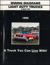 wiring diagram  1986 gmc ck wiring diagram pickup truck sierra suburban jimmy 1500 2500 3500