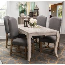 cosmo rustic wood antique white 72 inch dining table by kosas home today overstock 7585062