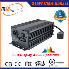 Global Greenhouse Lighting 600w Digital Ballast Hot Item Greenhouse Indoor Garden 315w Cmh Hps Digital Electronic Ballast Equal To 400w Hps Ballast