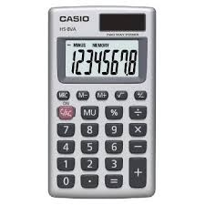 com casio inc sl l standard function calculator  casio inc hs8va standard function calculator
