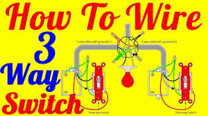 three way switch wiring diagrams sensecurity org how to wire 3 way switch wiring diagrams at