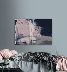 printable abstract art navy blue and pink art instant download within latest dwell abstract on dwell abstract wall art with explore gallery of dwell abstract wall art showing 13 of 20 photos