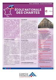 Ecole Nationale Des Chartes Ecole Nationale Des Chartes Campus France