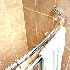 curved shower curtain dual rods rod install a quick home upgrades that deliver big smart excell tension