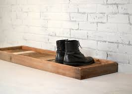Decorative Boot Tray Custom Boot Tray Made From Reclaimed Wood Shoe Storage Entryway Etsy