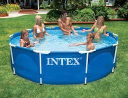 <b>Бассейн</b> каркасный <b>Intex Metal Frame Pool</b>, 305х76см 28200 - 5 ...