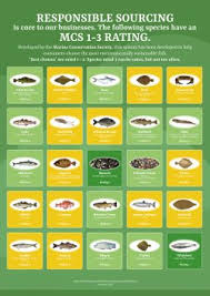 Sustainable Seafood Chart Sustainable Seafood Sustainability Guide Direct Seafoods