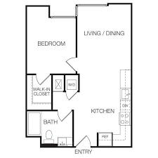 floor plan for bed captivating 1 bedroom apartment floor plan