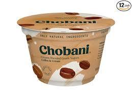 Dannon coffee flavored lowfat yogurt. Chobani 2 Percent Coffee Blended Greek Yogurt 5 3 Ounce 12 Per Case Amazon Com Grocery Gourmet Food