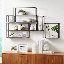 booker climbing wall display shelf set