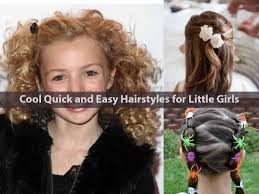 Cool Quick and Easy Hairstyles for Little Girls - Hairstyle For Women