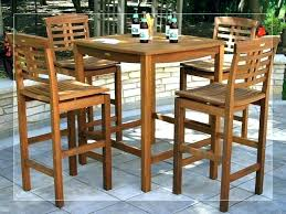 small bistro table and chairs for kitchen tall