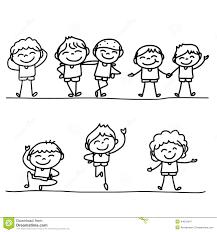 Disegni Da Colorare Di Bambini Felici Timazighin Con Girotondo Di