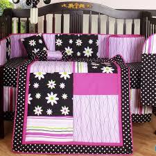 ladybug crib bedding red black bedroom room decor nursery baby