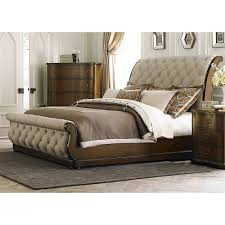 Sleigh Bed Bedroom Sets Liberty Furniture Cotswold Upholstered Sleigh Bed The Mine