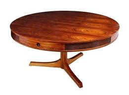 dining table with drawers round rosewood dining table with 4 drawers by heritage for shine 2