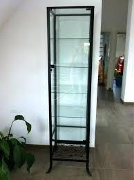curio cabinet ikea glass shelves cabinet medium size of glass glass curio cabinet upper cabinets bathroom