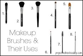 the uses of all the makeup brushes