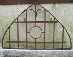Original Bogen Fenster Gitter Tür Tor Zaun Eisen Schmiedeeisen