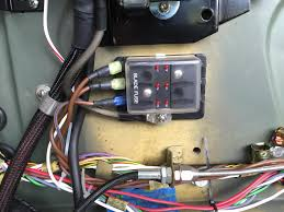 jaguar mk2 fuse box wiring library six way firewall fuse box delivering power to classic tech relay fuse panel