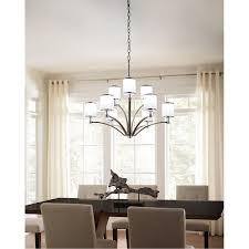 Elk Lighting 10123 6 Feiss Prospect Park 9 Lights Chandelier Dining Room