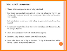 self introduction speech example introduction letter 8 self introduction speech example