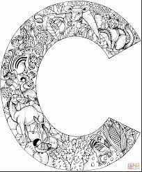 Small Picture outstanding hard coloring pages letter with letter c coloring