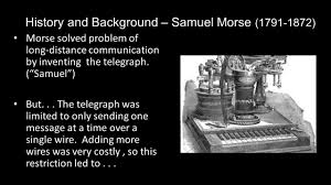 Image result for long-distance communication by telegraph ,