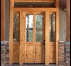 home exterior doors panel doors 2 panel knotty alder 2 lite craftsman entry door with sidelites ex 1347