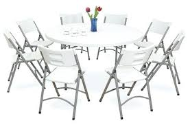 round table for 8 diameter 8 people are seated around a 5 6 diameter round table