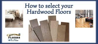 how to select hardwood flooring